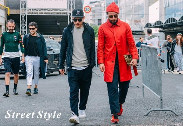 ストリート系ファッション